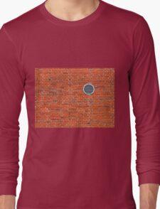 Red bricks wall Long Sleeve T-Shirt