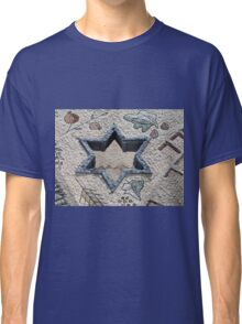 Star of David  in mosaic - Judaism Classic T-Shirt