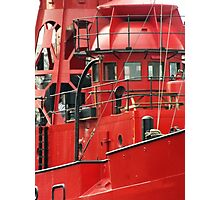 BIG RED BOAT or SPURN LV14 aka SULA Photographic Print