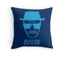 #LetsCook Throw Pillow