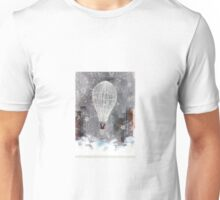 Duality traveling on a hot-air balloon Unisex T-Shirt
