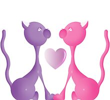 Love Kitties by trennea