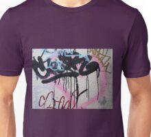 Graffiti on a wall Unisex T-Shirt