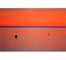 Cape Cod Sunset Photographic Print