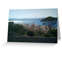 St. Tropez Greeting Card