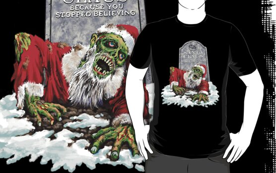 Zombie Christmas Horror by sinxdesigns