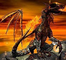 Fire Dragon by Heztia