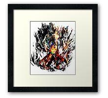 Kamina Framed Print