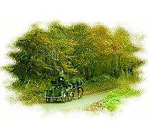 GREEN TRANSPORT Photographic Print