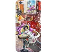 The Goya Girl In A Ruin Bar In Budapest iPhone Case/Skin