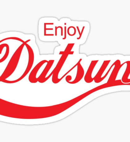 Enjoy Datsun JDM Sticker