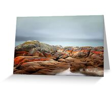 Bay of Fires 4 Greeting Card