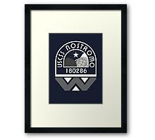 USCSS Nostromo Crew Logo Framed Print