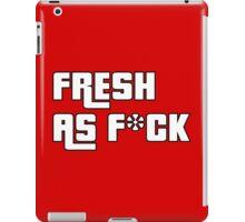 Fresh As F*ck GTA Style iPad Case/Skin