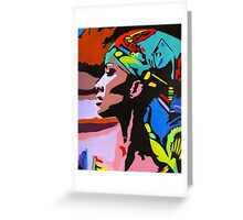 Modern Nefertiti Greeting Card