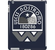 USCSS Nostromo Crew Logo iPad Case/Skin