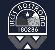 USCSS Nostromo Crew Logo by theycutthepower