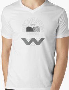 USCSS Nostromo Crew Logo Mens V-Neck T-Shirt