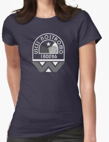 USCSS Nostromo Crew Logo Womens Fitted T-Shirt