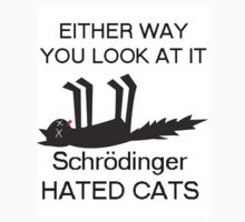 Schrodingers Cat Shirt by aholetees