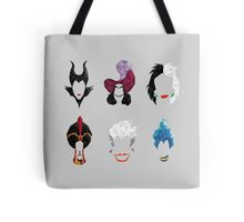 6 Villains Tote Bag