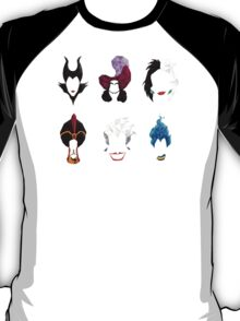 6 Villains T-Shirt