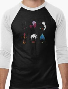 6 Villains Men's Baseball ¾ T-Shirt