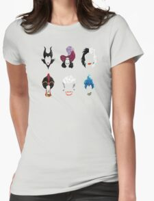6 Villains Womens Fitted T-Shirt