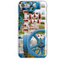 Industrial pipe. iPhone Case/Skin
