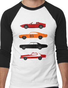 The Car's The TV Star Men's Baseball ¾ T-Shirt