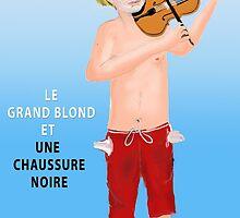 Le Grand Blond avec une chaussure noire by Nornberg77
