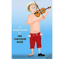 Le Grand Blond avec une chaussure noire Photographic Print