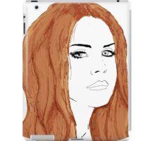 Lana Del Rey Digital Design iPad Case/Skin
