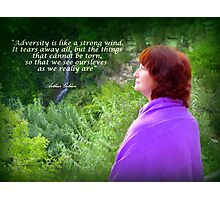 Listening to Nature Photographic Print