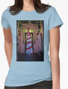 Franklin Rd christmas tree Womens Fitted T-Shirt