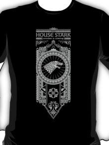 House Stark (White) T-Shirt