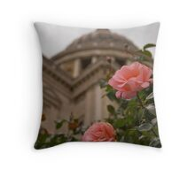 Rose By St Pauls Throw Pillow