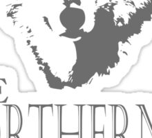 King in the North! Sticker