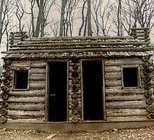 A Soldier Hut At Jockey Hollow by Jane Neill-Hancock