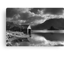 Boathouse, Llyn Cregennen Canvas Print