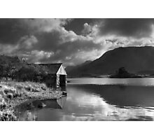 Boathouse, Llyn Cregennen Photographic Print