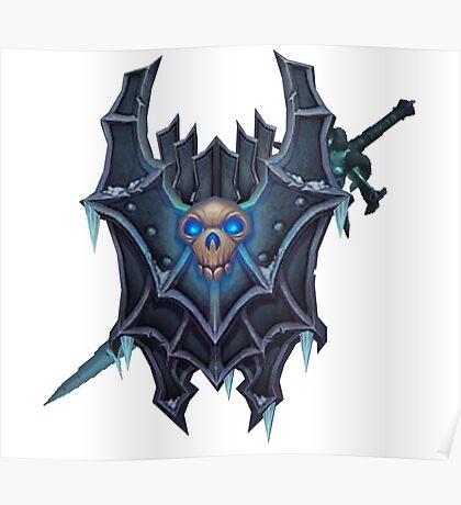 Frostmourne Shield & Sword Poster