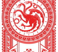 House of Dragons Sticker