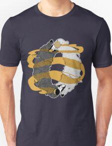 Golden Wolves  T-Shirt