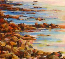 Hangklip beach by Ros Koch