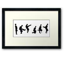 Silly Walk Framed Print