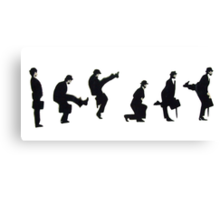 Silly Walk Canvas Print