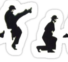 Silly Walk Sticker