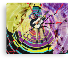 Turn Down the Music, Turn Up the Volume Canvas Print