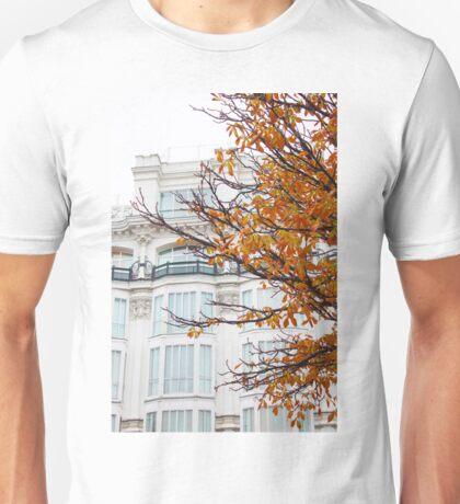 autumn in madrid. plaza santana Unisex T-Shirt